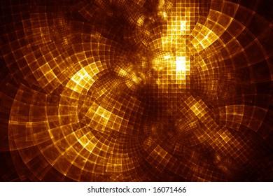 GridCloud Hub - fractal illustration
