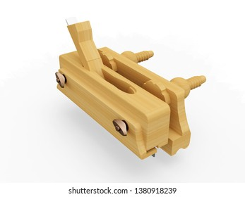 Grooving Wood Plane, 3D model
