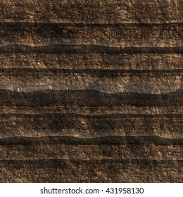 Ground texture. Seamless pattern.Cross section.
