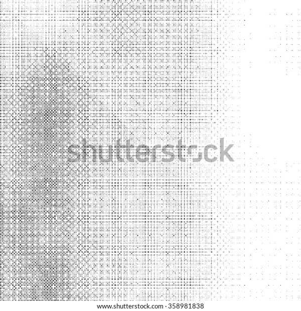 Grunge abstract texture background. Halftone dots style.