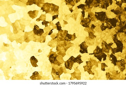 Grunge Background. Art Vintage Dust Effect. Dirt Stone Sketch. Abstract Border. Ink Old Illustration. Graphic Grain Texture. Dirty Cement. Gold Distress Wallpaper. Grunge Background.