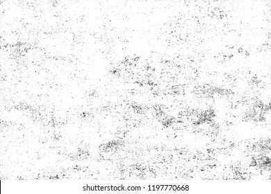 Grunge background black and white. Monochrome abstract texture. Old vintage surface