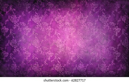 grunge background with classical pattern