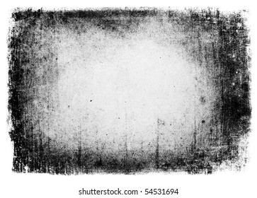 Grunge background isolated. Useful as mask.