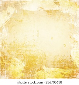 Grunge background with strokes of paint