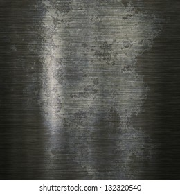Grunge background or texture of brushed steel plate