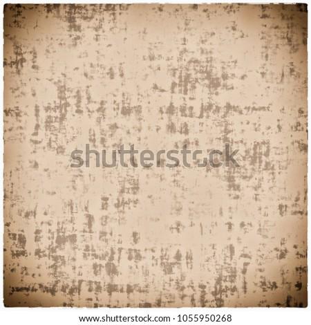 Grunge Beige Textured Paper Background Vintage Retro Stains