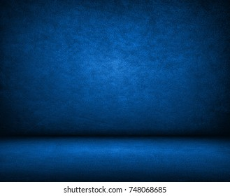 Grunge blue and black background or texture with space, Distress texture, Grunge dirty or aging background.