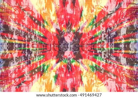 grunge colorful reggae background