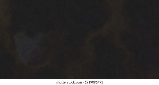 Grunge dark brown black background with marbled texture, grain textured vintage design