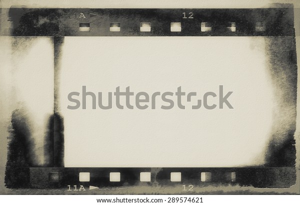 fondo de la tira de película gruesa