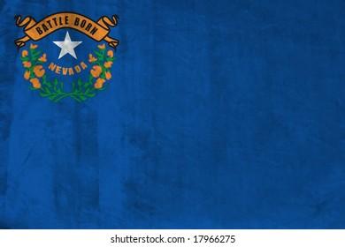 Grunge Flag of Nevada