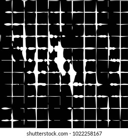 Grunge halftone black and white texture background. Abstract illustration Texture