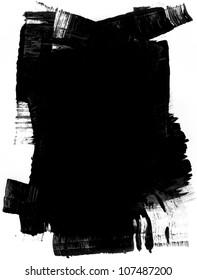 Grunge mask. (Design Element)