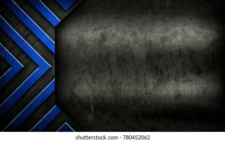 grunge metal design background