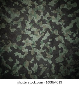 "Grunge military camouflage ""woodland"" background"