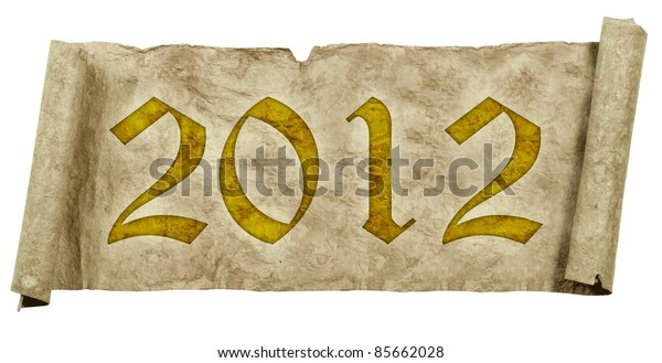 Grunge papers and scrolls 2012
