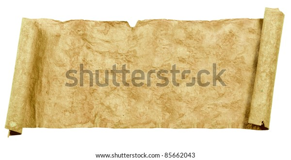 Grunge papers and scrolls