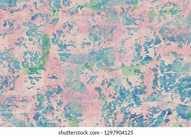 grunge pink and blue background