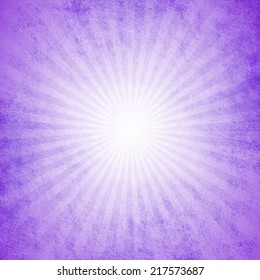 Grunge purple starburst effect background