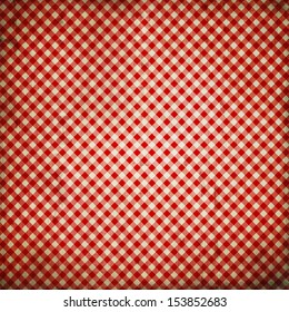 grunge red checkered background