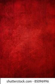 Grunge red illustration for background