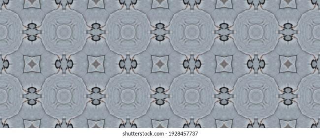 Grunge Seamless Print. Tiled Tile Decor. Beautiful Slate Sea Texture. Blue Endless Concept. Dark Rusty Slate Pattern. Trendy Effect.