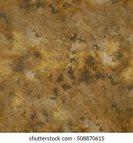 Grunge stone vintage coloured texture in golden brown