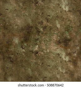 Grunge stone vintage coloured texture in brown green