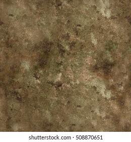 Grunge stone vintage coloured texture in greenish brown