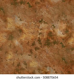 Grunge stone vintage coloured texture in copper terracotta