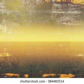 Grunge texture, may be used as retro-style background. With different color patterns: yellow (beige); brown; gray; black