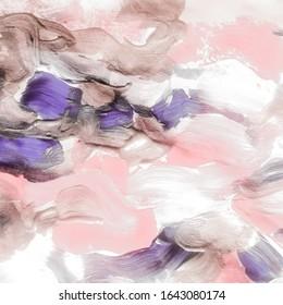 Grunge Texture Subtle. Crack Print. Gentle Tye Dye. Taupe Texture Pattern. Vintage Watercolor Crystal. Taupe Agate Art. Pink Marbling Print.