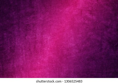 grunge vivid pink to purple gradient color abstract background