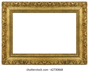 Grungy Gold Frame