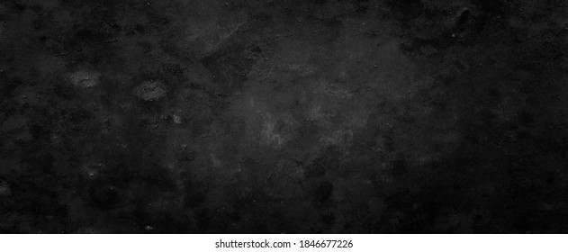 Grungy old black background with vintage grunge rock stone and peeling paint over rust metal textures