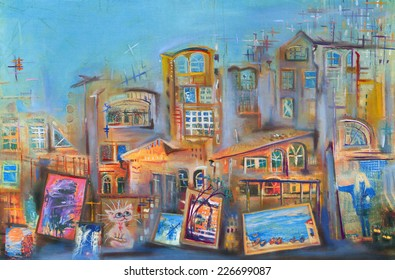 Guest. Urban landscape.