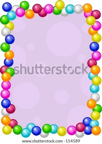 Gumball Frame Stock Illustration 154589 Shutterstock