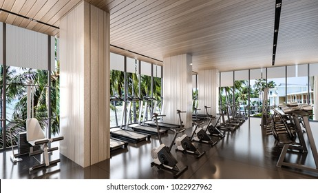 Luxury gym room stock illustrations images vectors shutterstock