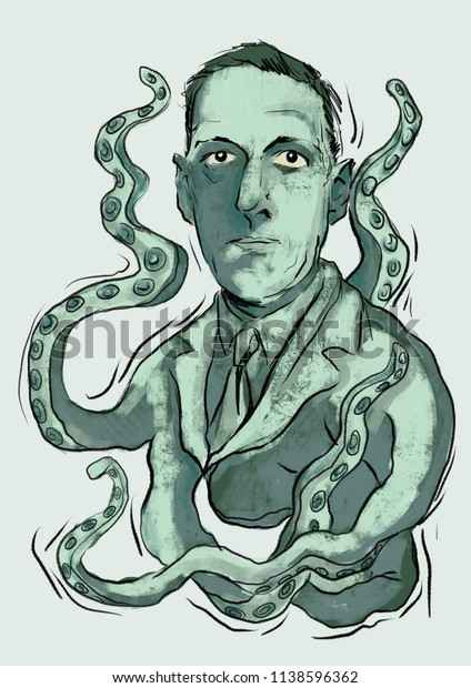 H. P. Lovecraft portrait