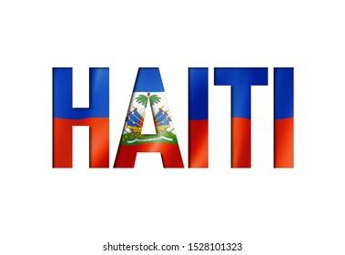 haitian flag text font. haiti symbol background