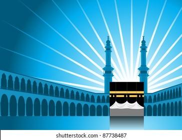 Hajj/ Pilgrimage Background 1