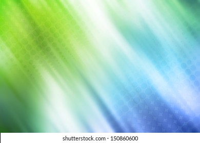 Halftone dots on blue green background