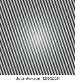 Halftone lined background. Halftone effect pattern.Lines isolated on the white rectangular background.