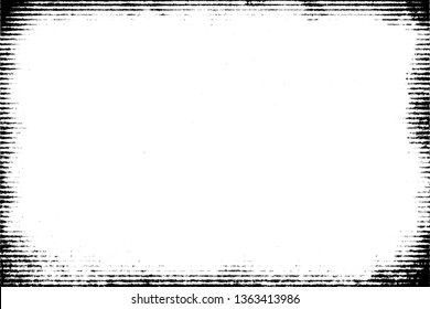 Halftone monochrome grunge horizontal lines texture.Abstract decorative background with straight stripes.Chaotic graphic pattern.