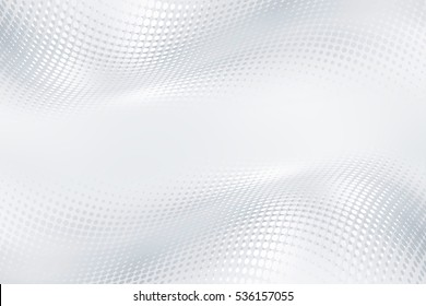 Halftone raster white gray background. Decorative web layout concept.