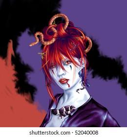 Halloween Geisha