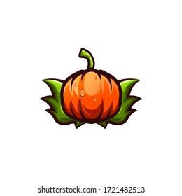 halloween logo design art illustration