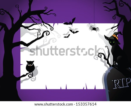 Halloween Party Invitation Background Jpg