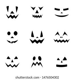 Halloween pattern/ background illustration, white background